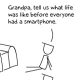 Ever wondered what life was like before smartphones?