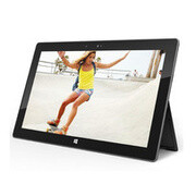 Microsoft Surface tablet survives a 30-inch drop test while shooting video