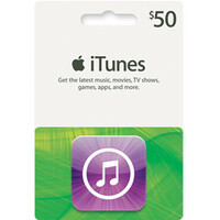 $50 iTunes gift card is on sale for $40 at Best Buy