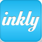 Send a heartfelt handwritten greeting card from your Apple iPhone or Apple iPad using 'Inkly'