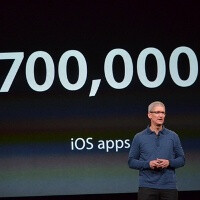 App Store now has 700,000 apps, 275,000 iPad applications