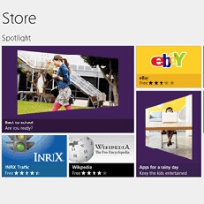 What's the story with the new Windows 8/RT apps?