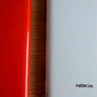 Watch the design of the white and red Nokia Lumia 820 compared