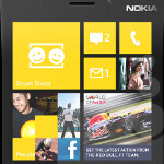 Actress Jessica Alba spotted with Nokia Lumia 920 in advance of launch