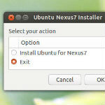 Ubuntu gets a Nexus 7 installer