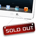 16GB Wi-Fi only Apple iPad mini in black joins all white units in selling out