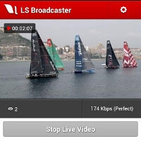 Livestream for Producers comes to Android, brings live video blogging over any connection just in time for Sandy