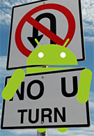First turn-by-turn navigation app for Android