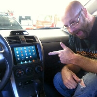 First dashboard iPad mini appears in Tampa just hours after the tablet's launch