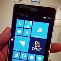 Nokia Lumia 900 seen running Windows Phone 7.8