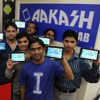 $20 Aakash 2 Android tablet goes official, unveiled by Indian president