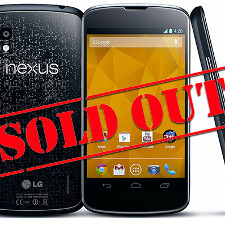 Nexus 4 is now sold out in the US, 32GB Nexus 10 supply depleted as well