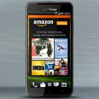 HTC Droid DNA will be the first Verizon Android preloaded with Amazon app suite, more to follow