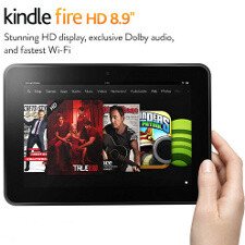 Amazon Kindle Fire HD 8.9 available today, LTE version coming next week