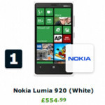 People hungry for Windows Phones, Lumia 920 tops sales chart