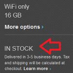 16GB Google Nexus 10 back in stock at U.S. Google Play Store