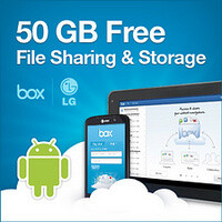 LG Android smartphones get 50GB free cloud storage for life, courtesy of Box