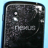 Google Nexus 4 hits the pavement in this new drop test - see what happens