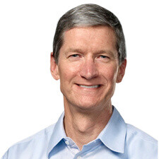 Apple's Tim Cook ranks highest-paid chief executive in the U.S.