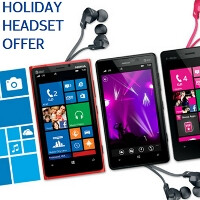 Buy a Lumia WP8 handset from Nokia's US stores, claim a Monster Purity headphones holiday gift