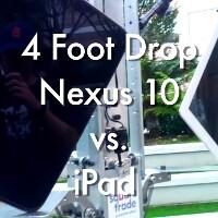 Apple gear vs Google Nexus stable drop test (video)
