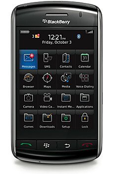 New OS leaked for Vodafone's BlackBerry Storm 9500