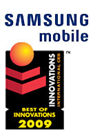 Samsung receives top honors at CES