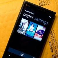 Paper Shuffle for Windows Phone 8 rotates lockscreen wallpapers of your choosing