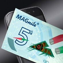Your cell phone can fight counterfeit money with this MAGnite tech by G&D