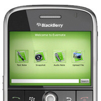 BlackBerry 10 to come with deep Evernote integration
