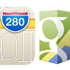 Google Maps vs Apple Maps comparison