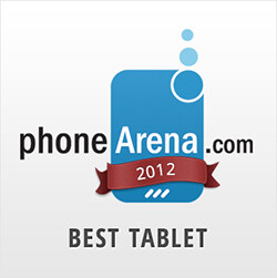 PhoneArena Awards 2012: Best Tablet