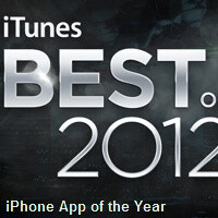 Apple announces best iPhone, iPad apps and games of 2012