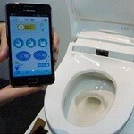 Take control with this Android controlled toilet