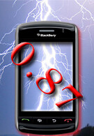 Another BlackBerry Storm OS found online, now up to .87; Storm warnings for India