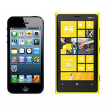 Tests show the Nokia Lumia 920's refresh rate 5.4x faster than iPhone 5