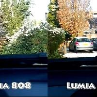 Nokia 808 PureView vs Nokia Lumia 920 image stabilization test (video)