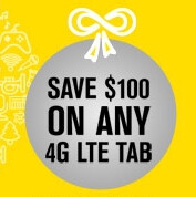 Sprint allows new customers to take $100 off Apple, Samsung and Motorola tablets by buying a smartphone