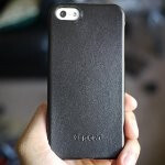 Spigen iPhone 5 Genuine Leather Grip Case hands-on