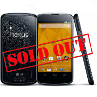 Nexus 4 sales merely 375,000, say number-crunching enthusiasts