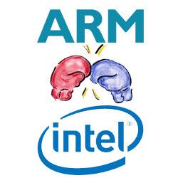 Intel closes the power consumption gap on ARM, Atom competitive with Cortex A15 and Krait
