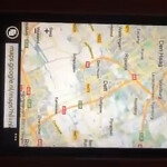 Google Maps does work on Windows Phone's Internet Explorer browser according to video