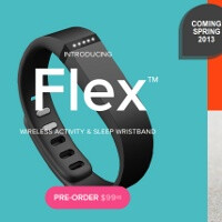 Fitbit Flex is a Bluetooth fitness tracking wristband, fresh off CES 2013