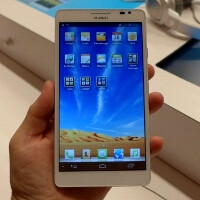 "Huawei shoots for gold with 6.1"" Ascend Mate - ""the largest screen smartphone"" gets the largest 4050 mAh battery"