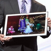 largest tablet screen size