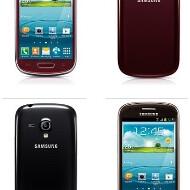 Samsung Galaxy S III Mini new hues official - Titan Gray, Amber Brown, Garnet Red and Onyx Black