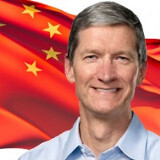 Tim Cook visits China to discuss... something