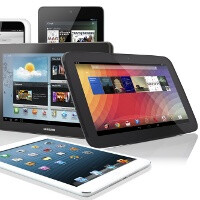 Tablet shipments may hit 180 million units in 2013