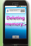 Application from Android Market erases T-Mobile G1's memory