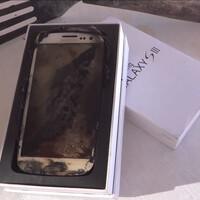 Samsung Galaxy S III gets microwaved, ends up on eBay